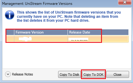 How To Copy Firmware
